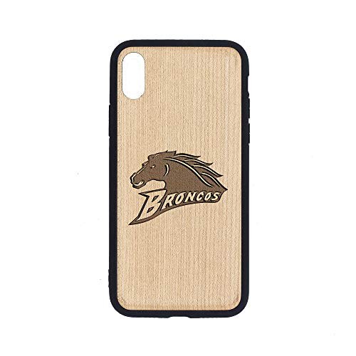 WMU Broncos - iPhone Xs MAX Case - Maple Premium Slim & Lightweight Traveler Wooden Protective Phone Case - Unique, Stylish & Eco-Friendly - Designed for iPhone Xs MAX