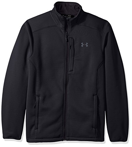 Under Armour Outerwear Men's UA Extreme ColdGear Jacket, Black (001)/Rhino Gray, Large ()