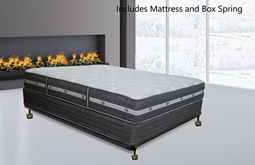 Spring Air,  11-inch Fully Assembled Soft Orthopedic Mattress and  Box Spring ,Full,Made In USA by Spring Solution