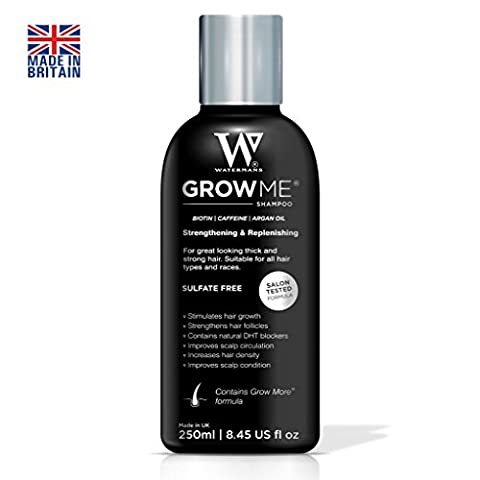 Best Hair Growth Shampoo Sulfate Free, Caffeine, Biotin, Argan Oil & more, DHT Blocking Shampoo to Stimulates Hair Re-growth, Helps Stop Hair Loss, Grow Hair Fast for Women & Men