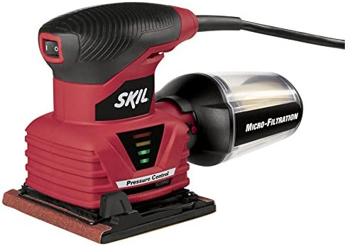 SKIL 7292-02 2.0 Amp 1 4 Sheet Palm Sander with Pressure Control