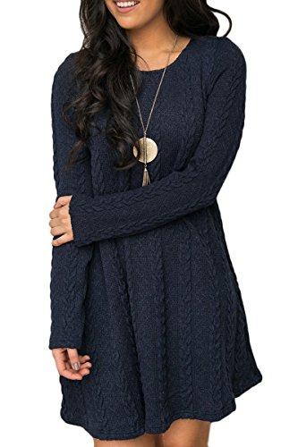 knitting pattern ladies tunic dress - 4