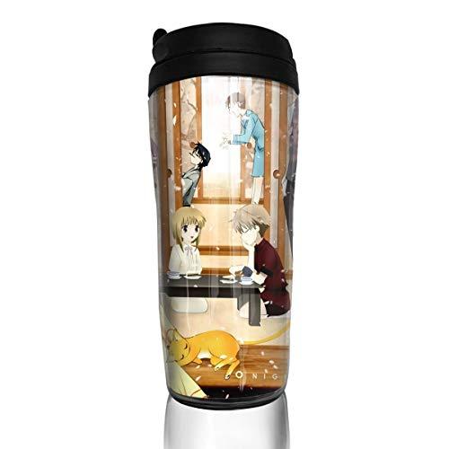 Fruits Basket 12oz(350ml) Food Grade ABS Anime Cartoon Thermos Coffee Cup with Sealed Lid Coffee Mug Tea Cup