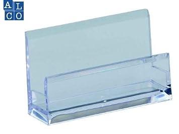 Alco Acryl Visitenkartenhalter Visitenkartentsänder Glasklar
