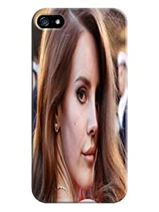 Durable Phone Protection Case/cover fashionable TPU Lovely Lana Del Rey Designed for iphone 5/5s