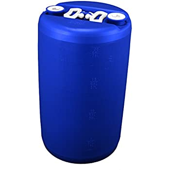 20 Gallon Emergency Water Storage Drum, Blue   New!   Boxed!