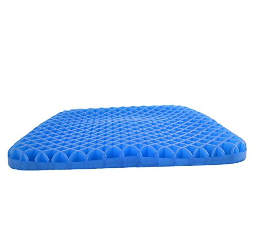 Gel Seat Cushion Breathable Foam Office Seat Cushions for Back Pain and Pressure Release Highly Effective Antibacterial to Relieve Back for Lower Back,Coccyx,Sciatica,Tailbone or Hip Pain Memory Foam by LIVZA