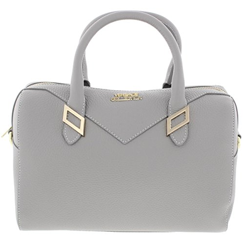 Versace-Collection-Womens-Leather-Pebbled-Satchel-Handbag
