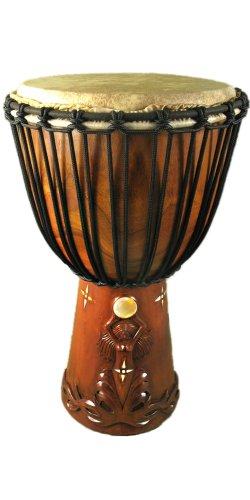 Goddess Shell Moon Djembe Drum 24