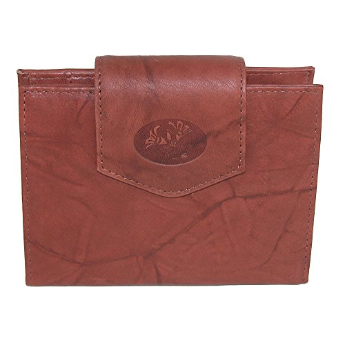 Buxton French Handbag - Buxton Heiress Ladies Cardex (Brown)