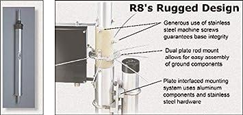 Cushcraft R8 8 bandas HF antena vertical: Amazon.es ...