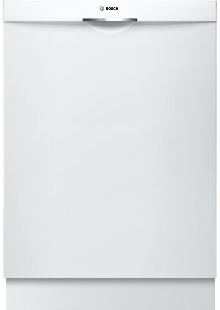 Bosch SHSM63W52N 24'' 300 Series Built In Fully Integrated Dishwasher with 5 Wash Cycles, in White
