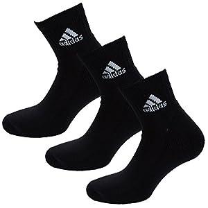 Adidas Women's Adidas Pack Adi Ankle HalfCushioned Socks 8.5-11 Black
