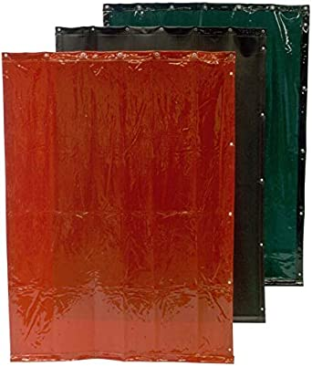 Cepro 16.15.18.0010 Rideau de soudure Orange 1800 mm x 1400 mm