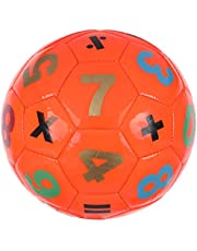 Small Numbers Printed Ball for Kids, Size 2 - Orange