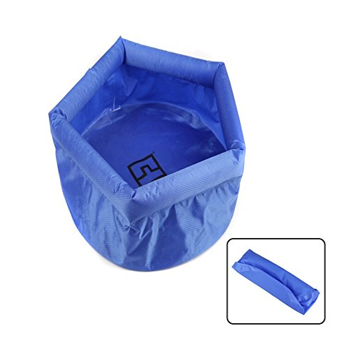 Folding Inflatable Wash Basin, 1 Pack 8L/2.11Gal Portable Fo