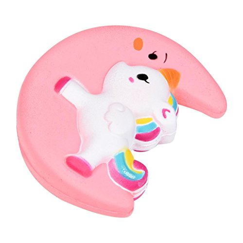 Squishy Juguetes, Magiyard Squishy cute moon unicorn scented cream slow rising squeeze decompression toys