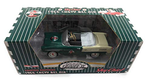 Gearbox 1955 Chevy Bel Air Green Texaco Series #8 Limited Edition Diecast Replica Pedal -