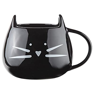 Cat Fan related Products Home-X – Ceramic Cat Coffee and Tea Mug, The Perfectly... [tag]
