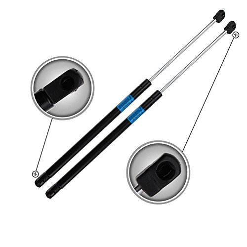 Dayincar 2pcs 2001 to 2006 Acura MDX Front Hood Gas Lift Struts Supports Shocks Springs Arms Dampers (Gas Hood Damper)