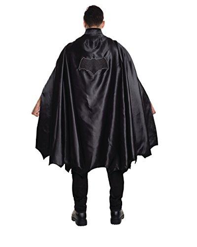 Rubie's Men's Batman V Superman: Dawn of Justice Deluxe Adult Batman Cape, Black, One Size (Adult Bat Wings)