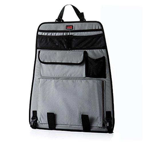Kylin Express Car Seat Organizer/Traveling with Kids/Auto Seat Back Organizer, Gray