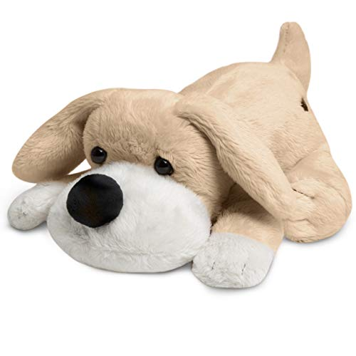 (FAO Schwarz Soft & Cuddly Patrick The Pup Stuffed Puppy for Children Cute & Fluffy Plush Doggy for Kids, Bedtime Pal for Toddlers & Infants with Floppy Ears & Big)