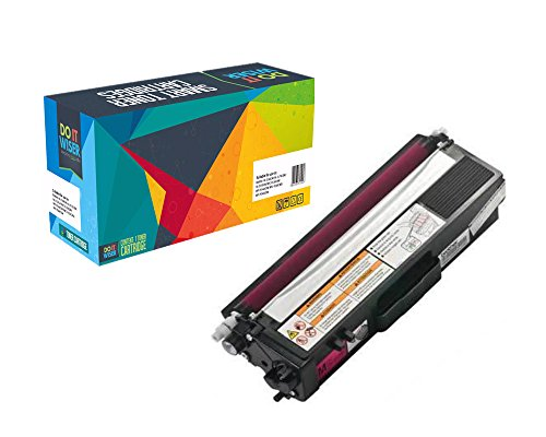 Do it Wiser Compatible Magenta Toner Cartridge For Brother HL-4140CN HL-4150CDN HL-4570CDW HL-4570CDWT MFC-9460CDN MFC-9560CDW MFC-9970CDW TN-315 TN315 - TN315M - Color Extra High Yield 3,500 Pages