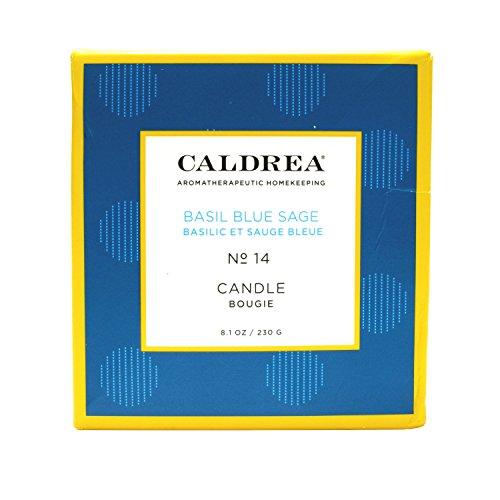 Caldrea Basil Blue Sage Scented Candle 8.1 - Caldrea Candle