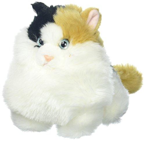 Aurora World Fat Cats Plush Toy Animal, Munchy Calico from Aurora