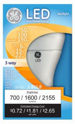 3 Way Led Light Bulb Daylight in US - 7