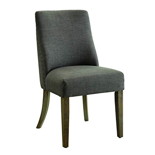 (Florence Upholstered Dining Chairs Ash and Natural (Set of 2))