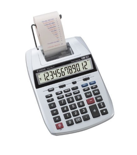 キャノン 加算機プリンター電卓 P23-DHV