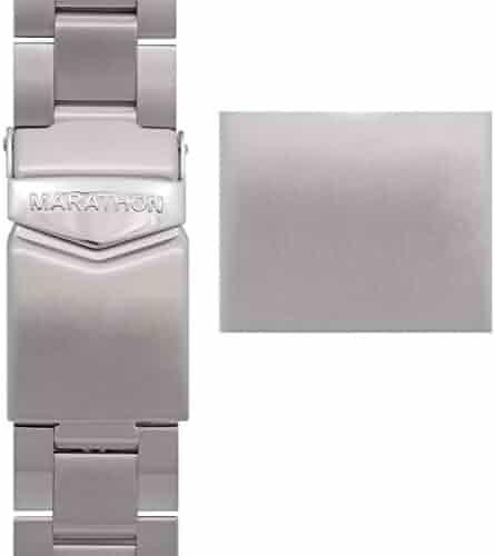 Marathon Stainless Steel, Military Grade Bracelet's (20mm, Sterile)