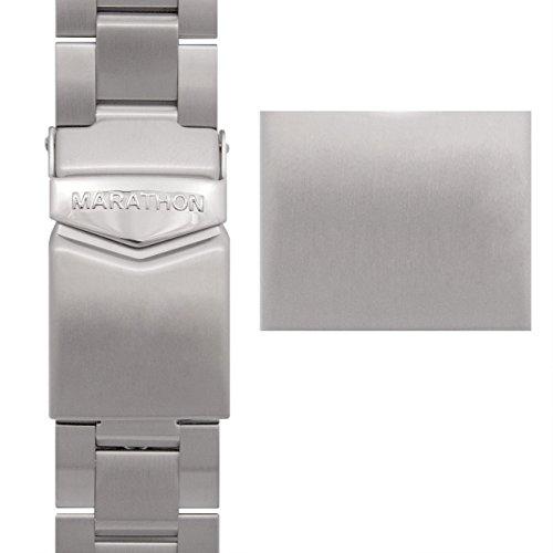 MARATHON Stainless Steel, Military Grade Bracelet's (20mm, Sterile) (Steel Stainless Sterile)