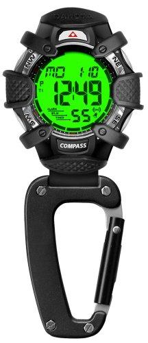 Dakota Electronic Compass Clip Watch-Alarm and Stpwtch ()