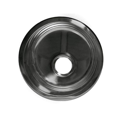 Opella 14177.046 16.7'' Round Bar Sink - Brushed Stainless Steel