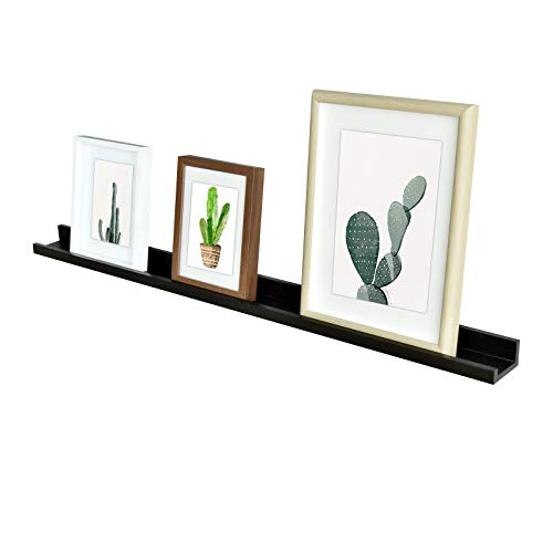 Photo Ledge Shelves, Photo Ledge Wall Shelf (48-inch, Espresso) ()