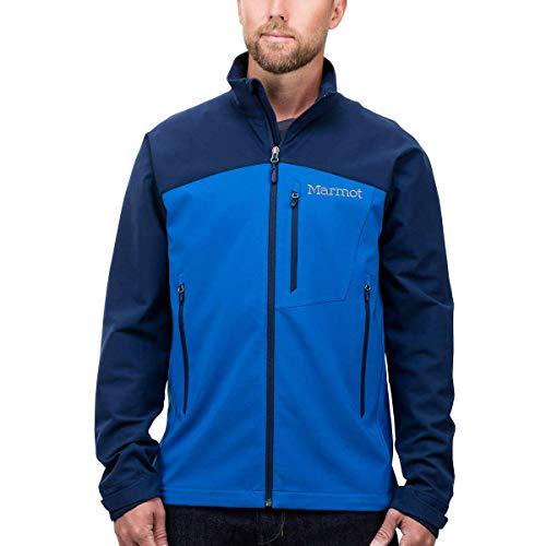 Marmot Men's Softshell Jacket (True Blue/Arctic Navy, X-Large)