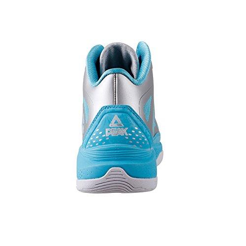 Picco Mens Challenger Ii Scarpe Da Basket Argento / Brillante Blu