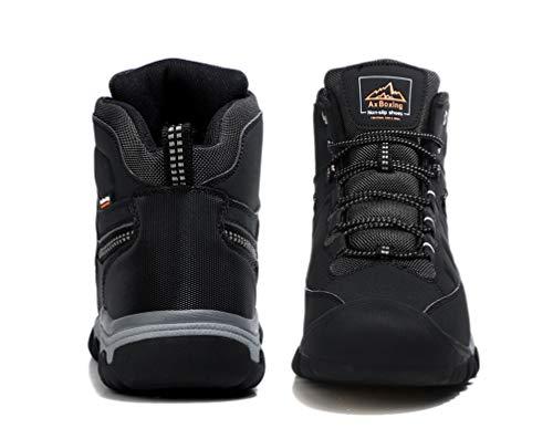 AX BOXING Bottes Homme Hiver Bottines Randonnée Trekking Chaudes Fourrées Chaussures Taille 41-46 3
