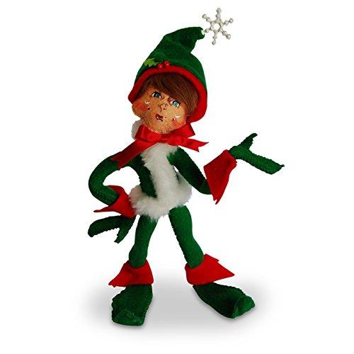 Annalee - 9in Snowflake Elf - - Annalee Elf Dolls
