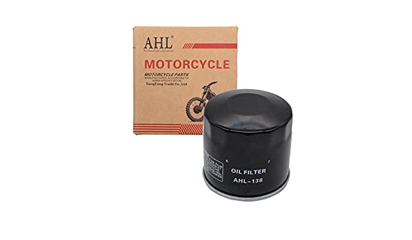 AHL 138 Oil Filter for Suzuki VS800 Intruder 800 1992-2009