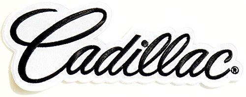 "12""x4"" Big Cadillac Racing Car Logo Patch Sew Iron on App..."