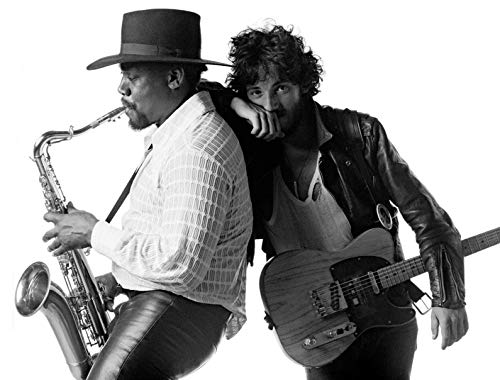 photo Bruce Springsteen and Clarence Clemons 8 x 10 Glossy Picture Image #3