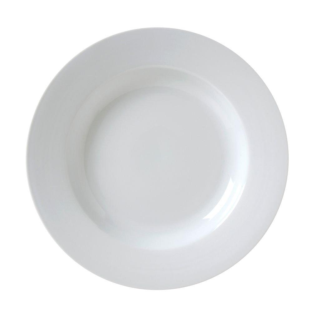 Vertex China CAT-3 Market Buffet Rim Soup, 9'', 12 oz., Porcelain White (Pack of 24)