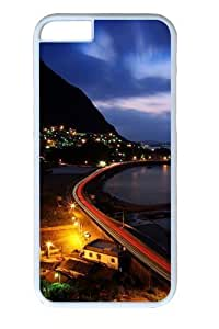 City by The Sea Polycarbonate Hard For SamSung Galaxy S5 Phone Case Cover White