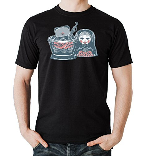 Killer Matroschka T-Shirt Black Certified Freak