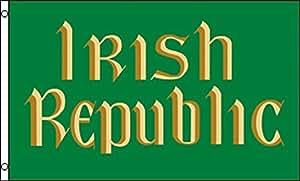 3x 5bandera de República Irlanda irlandés 3'x5' Banner latón ojales de San Patricio Día
