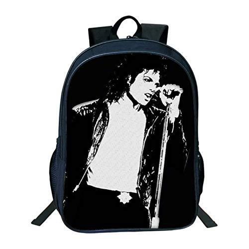 Movie Star Michael Jackson 3D Prints School Backpack Bag Casual Children (Michael Jackson Backpack)